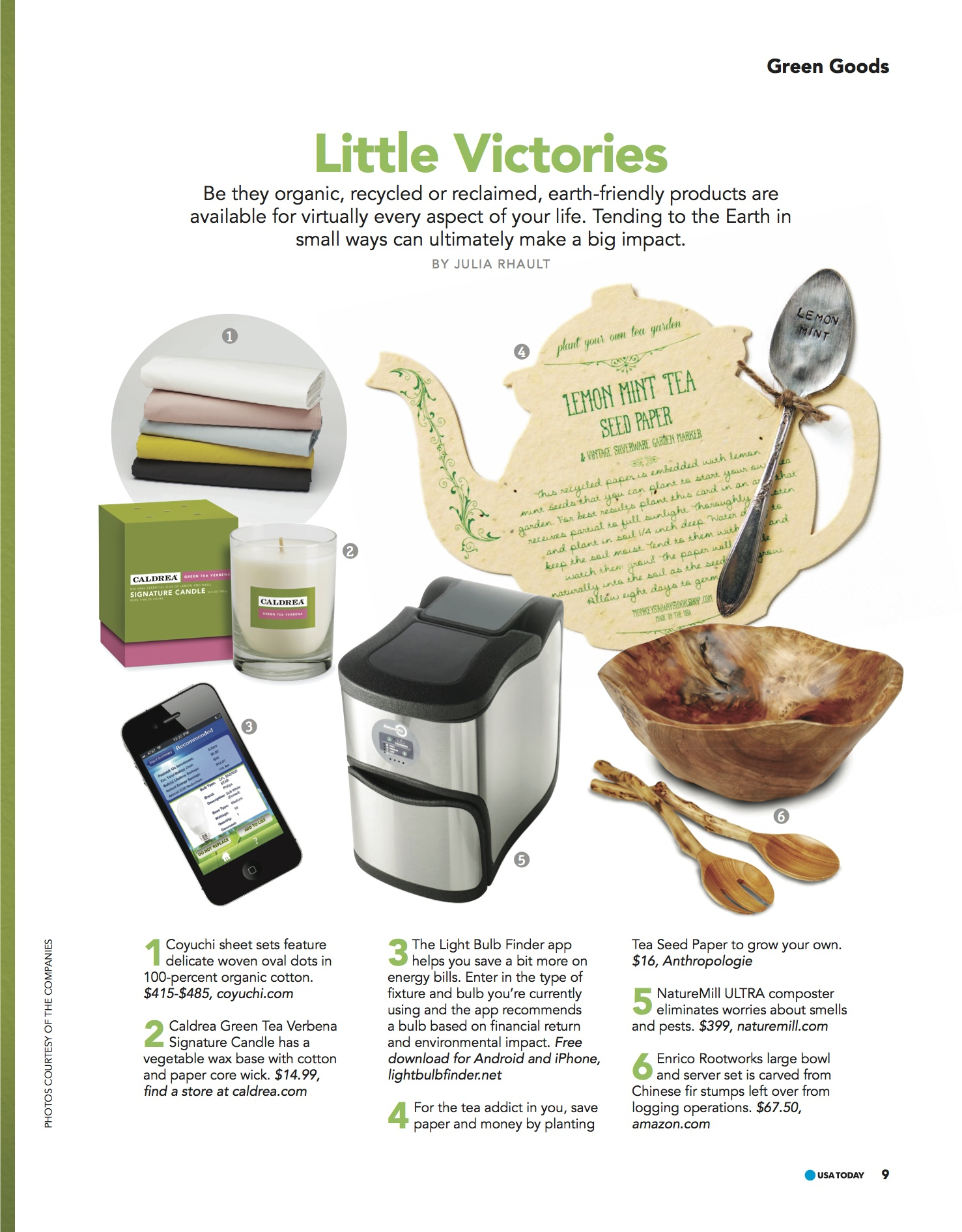GREEN LIVING_page9 Green Products